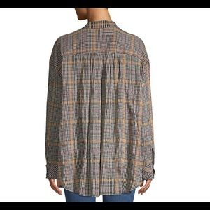 """Free People Tops - Free People """"Break my Stride"""" Button-Up Tunic 🌿"""